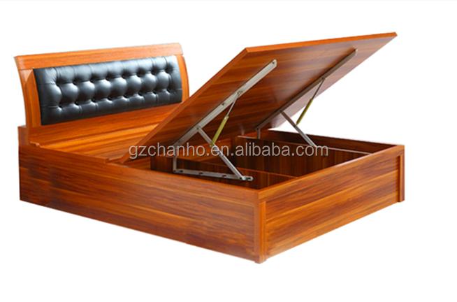 Furniture Hardware Storage Bed Hinge Mechanism With Gas Strut Ch J02 4