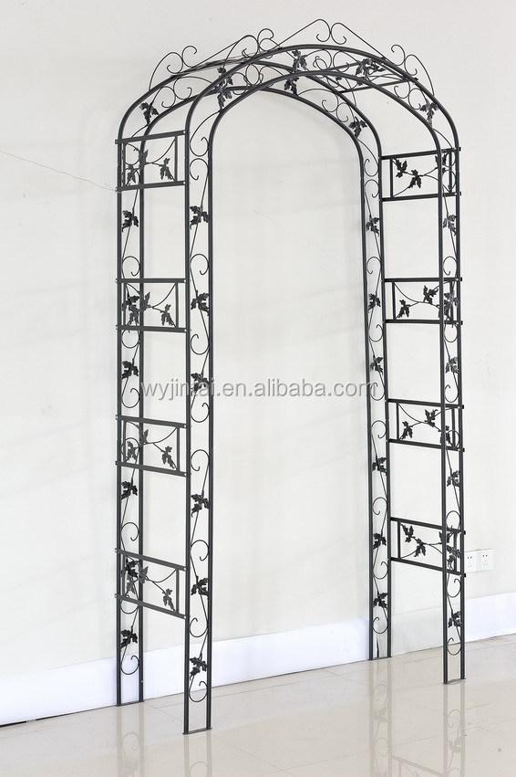 Decorativi esterni rose in ferro battuto giardino arco - Archi per giardino ...
