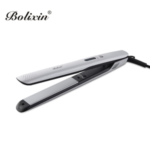 Professional LCD 1 inch anion 450F flat iron hair straightener