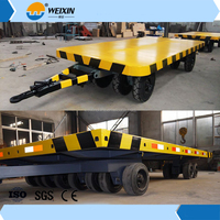 Cheap & Different Sizes 2-Axle Low Bed Semi Trailer