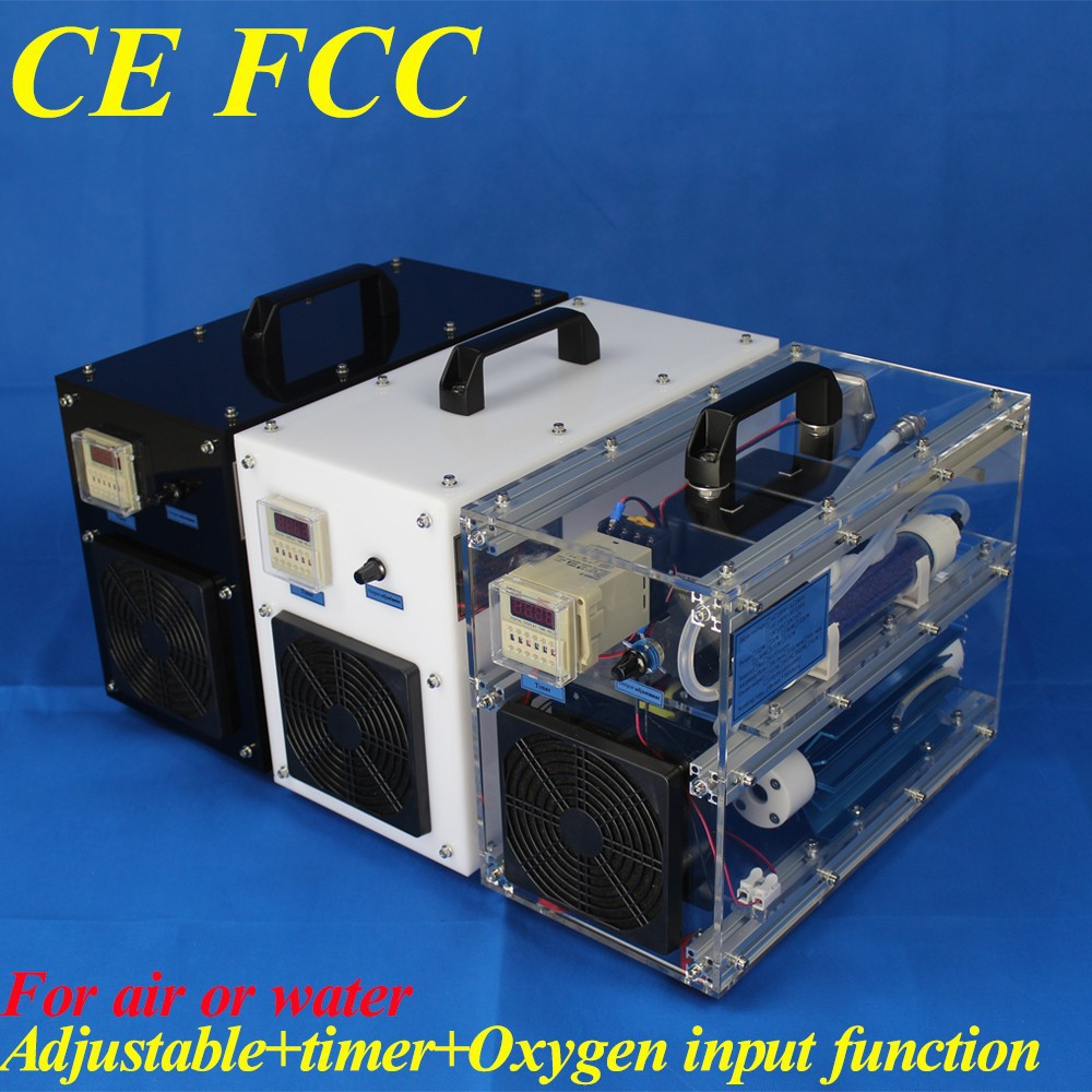 CE FCC mini ozone generator water treatment water ozonator