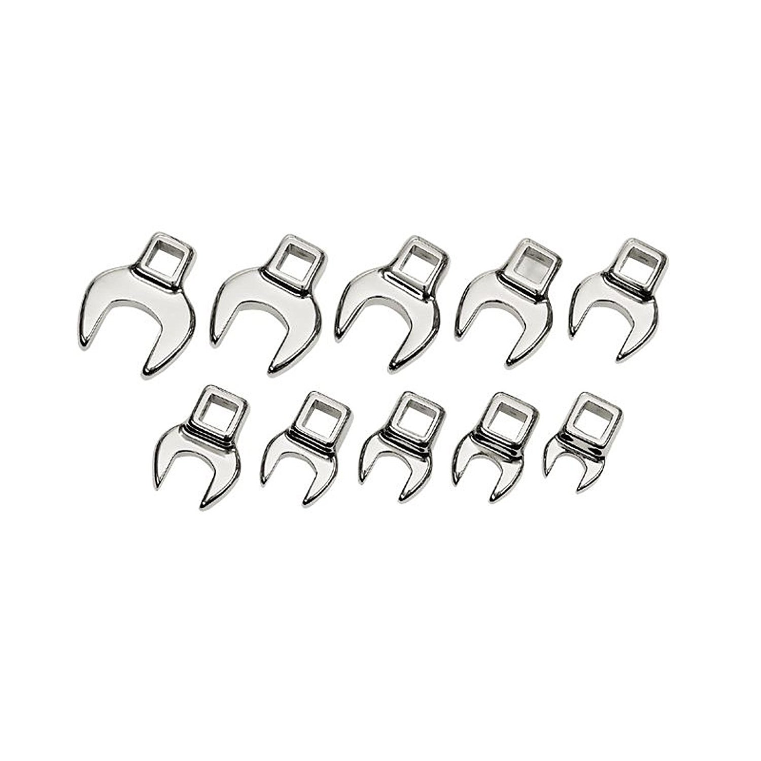 Craftsman 10 Piece Metric Crowfoot Wrench Set, 9-4363