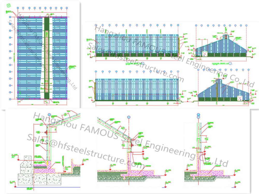 Long life prefab steel building design buy prefab steel Building design software