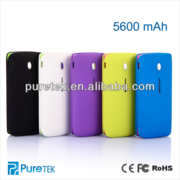 5600mah Mobile Battery Power Banks, Universal Power Bank For iPhone, Samsung, PSP, MP3, Nokia