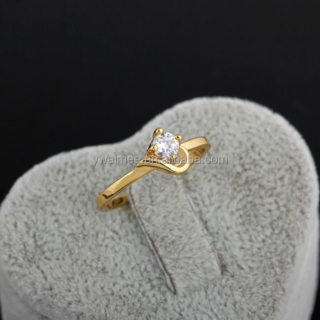 18 Carat Yellow Gold Plated Couple Wedding Rings Stern Engagement