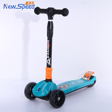 3 wheel cheap folding kids foot pedal high quality kick scooter for sale