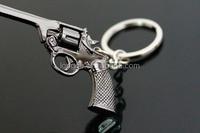 Online games gun keychain alloy gun accessories