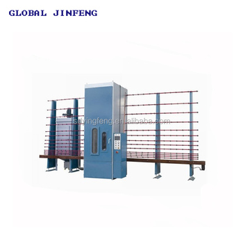 JFP-2500 Vertical PLC control Automatic wood marble sand blasting machine