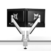 high quality adjustable dual monitor arm