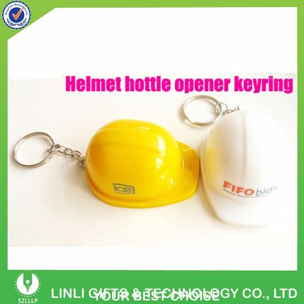 plastic helmet beer opener keychain opener keyring bottle opener keychain buy opener keychain. Black Bedroom Furniture Sets. Home Design Ideas