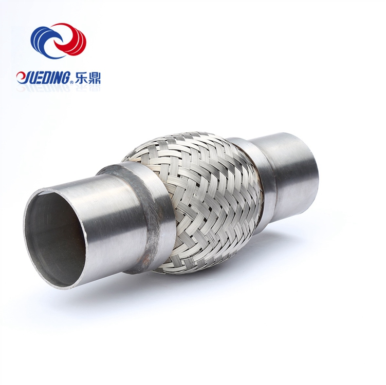 Exhaust tubing/stainless steel exhaust bellows/flexible metal exhaust hose
