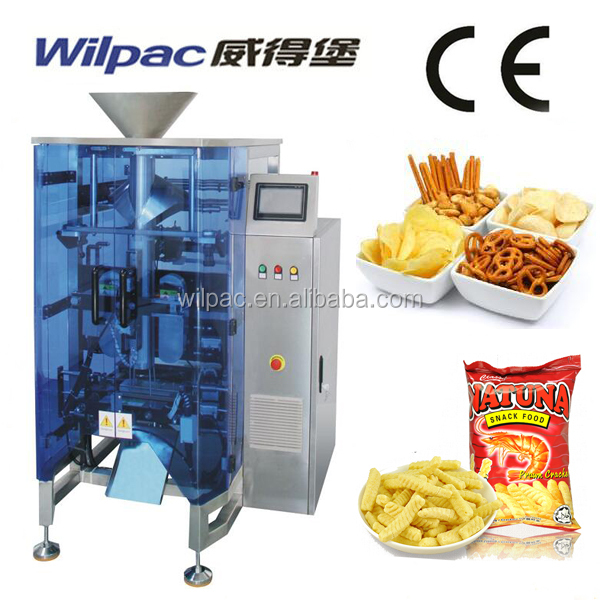 Granule Snack Food Nitrogen Weighing Packing Equipment