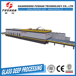 Small scale tempering making car glass machine With Long-term Service