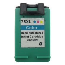 Wholesale shanghai Printer ink cartridge For HP 75 XL CB337WN Remanufactured & Compatible inkjet cartridge