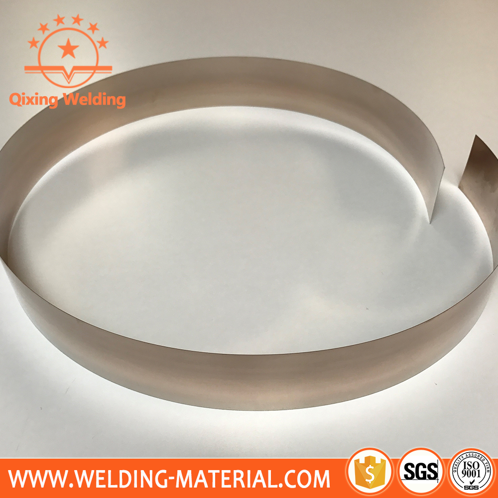 silver base filler metal brazing strip