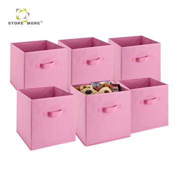 Gentil Modern Personalized Cube Foldable Fabric Storage Box