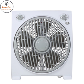 India Price 220V 12Inch Table Fans Remote Control Box Fan With Stand