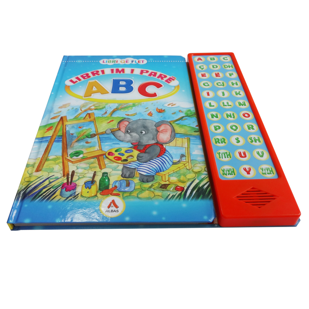 2017 Alphabet Toys Books with Buttons ,Children Musical Sound Book With Voice Modules Manufacturer