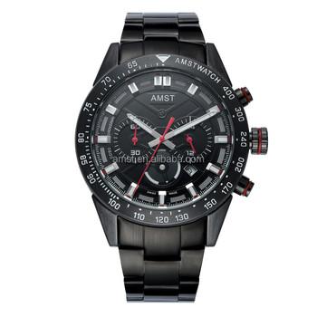 668f75126315 2018 reloj de los hombres de la marca superior AMST 3021 pantalla Dual  relojes de lujo