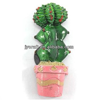 Disesuaikan Buatan 3d Resin Palsu Lucu Mini Kaktus Dengan Bunga Magnet Kulkas Untuk Promosi Kreatif Hadiah Dan Kerajinan Buy Buatan Pot Kaktus