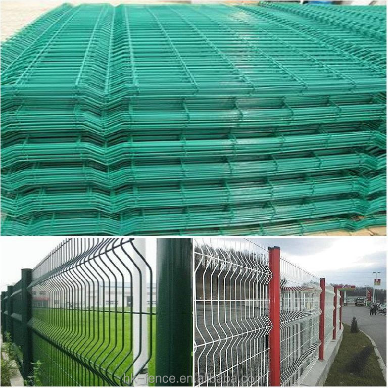 Pvc Coated 2.0m High Galvanized Welded Garden Wire Fence Panels ...