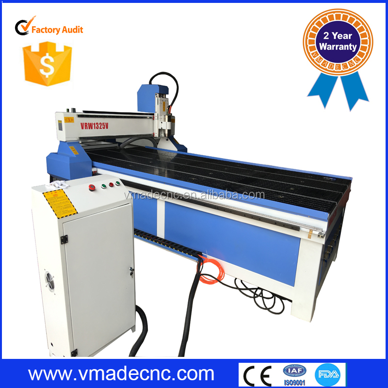 Plastic/Acrylic/ MDF/PVC/Meta Furniture/Door making cutting engraving machine 1325 cnc wood router for sale