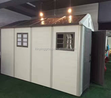 Kinying brand newest design 2018 China plastic outdoor buildings summer prefab house