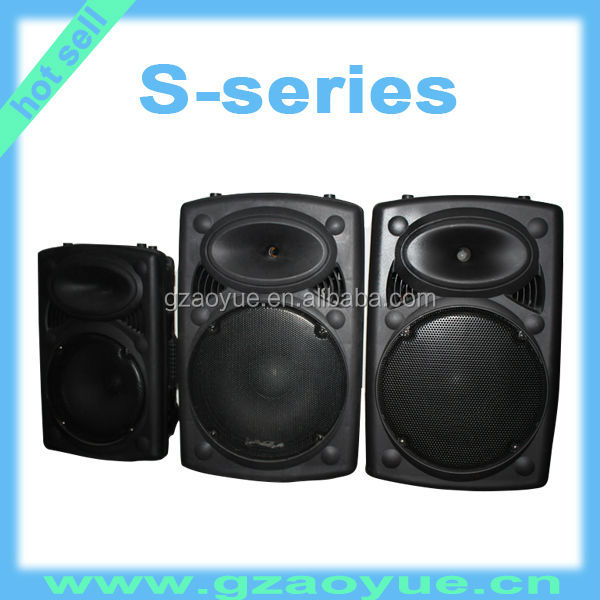 15 Inch Active Speaker With Usb Port/ Plastic Speaker Box With Sd ...