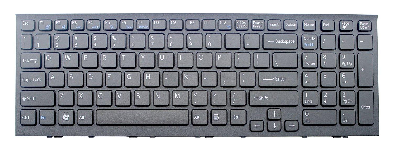 OEM SONY Vaio VPCEH11FX//P VPCEH11FX//W White Keyboard With Frame NEW USA
