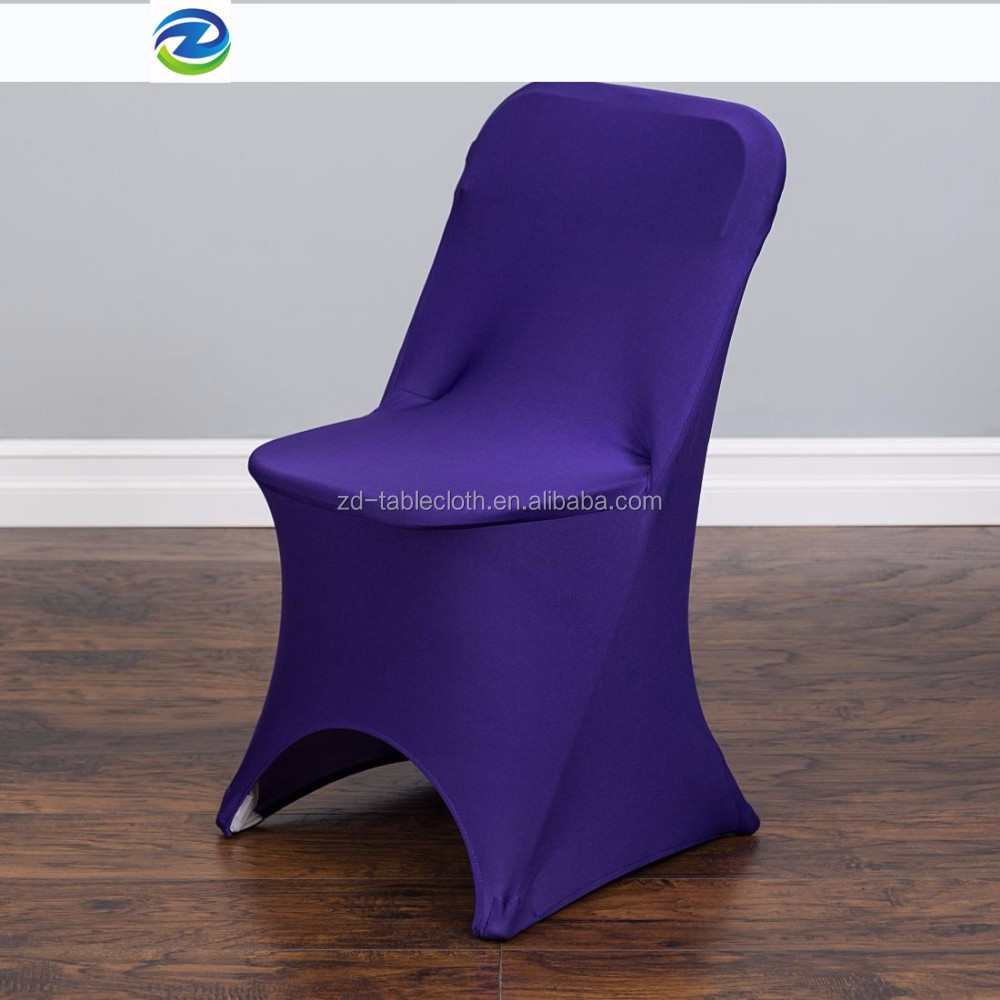 Economy Stretch Folding Chair Seat Cover For Wedding