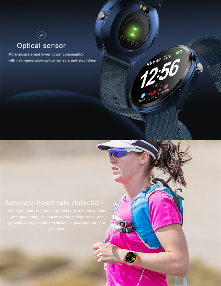 B12 PRO Full touch Smart watch,fitness tracker Heart Rate Blood Pressure Monitor smart watch,IP67 Waterproof Sport Smart Watch