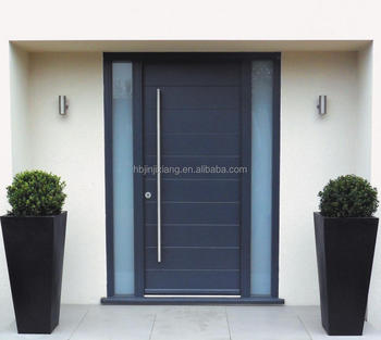 American Modern Exterior Front Entrance Doors With Side Light - Buy ...