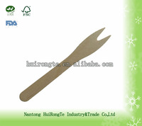 high quality disposable wooden fork