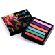 Hair Chalk Popular Temporary Color Dye Salon Kit Soft Pastel 6Pcs