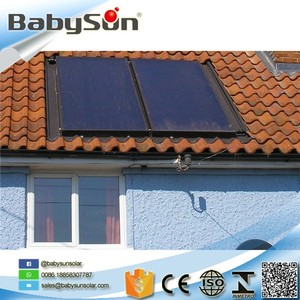 China Manufacturers portable split pressured flat panel solar water heater for home