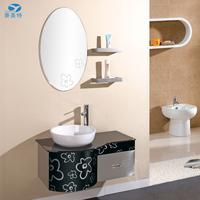 Top selling stainless steel bathroom cabinet vanity