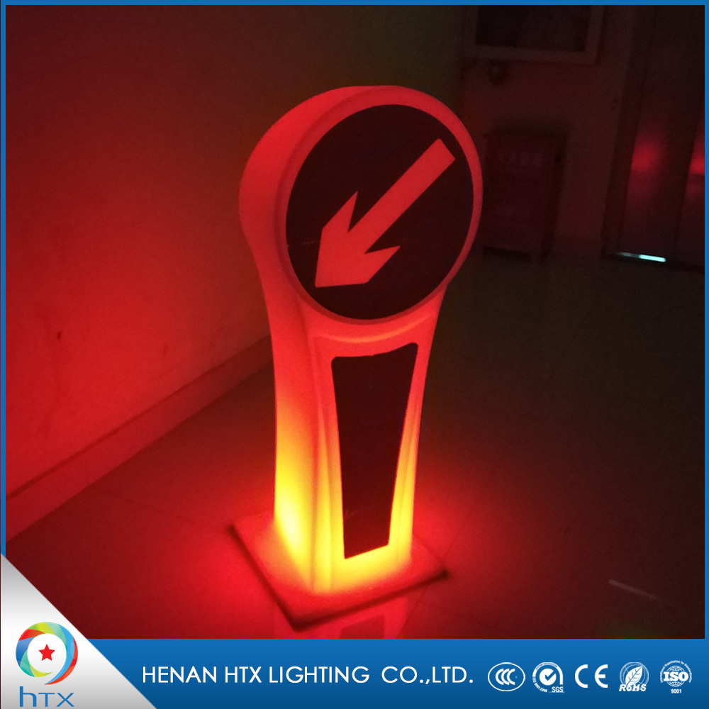 Cheap Price Stand Warning Lights Road Reflective LED Traffic Signs