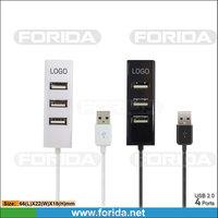 Forida promotional 4 ports FE 1.1 USB 2.0 hub 2016