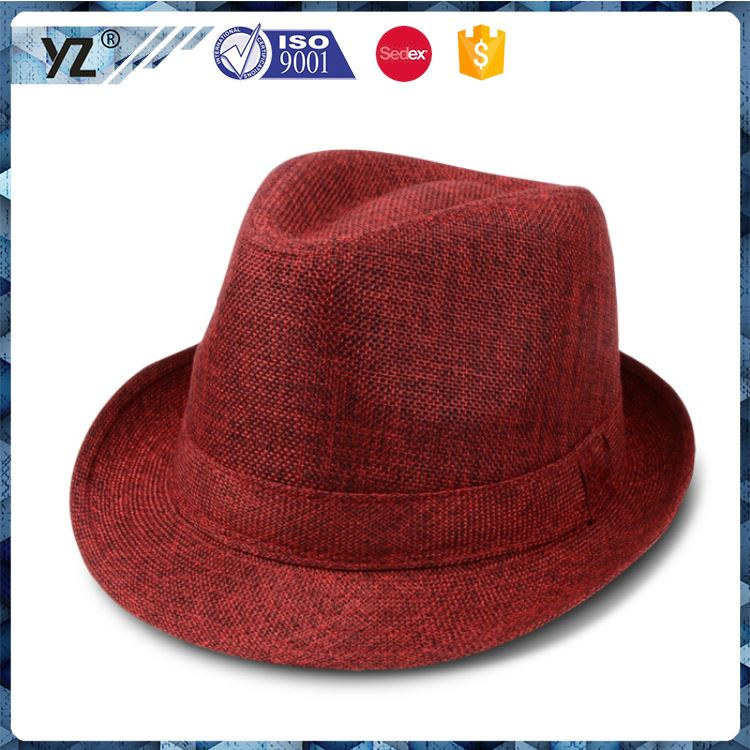 New coming custom design velour top hat for wholesale