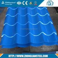HOT Corrugated roofing sheet zinc aluminum metal roof