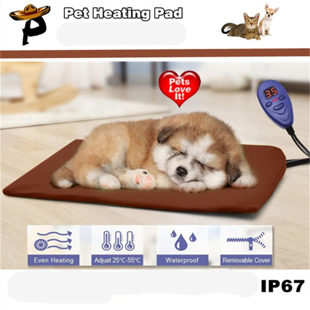 Get Quotations Quartly Pet Heating Pad Indoor Outdoor Electric For Cats And Dogs Kitty Or