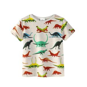 baby boy tops children t shirts 2018 brand summer t-shirt for boys clothes animal cotton clothing boys tee