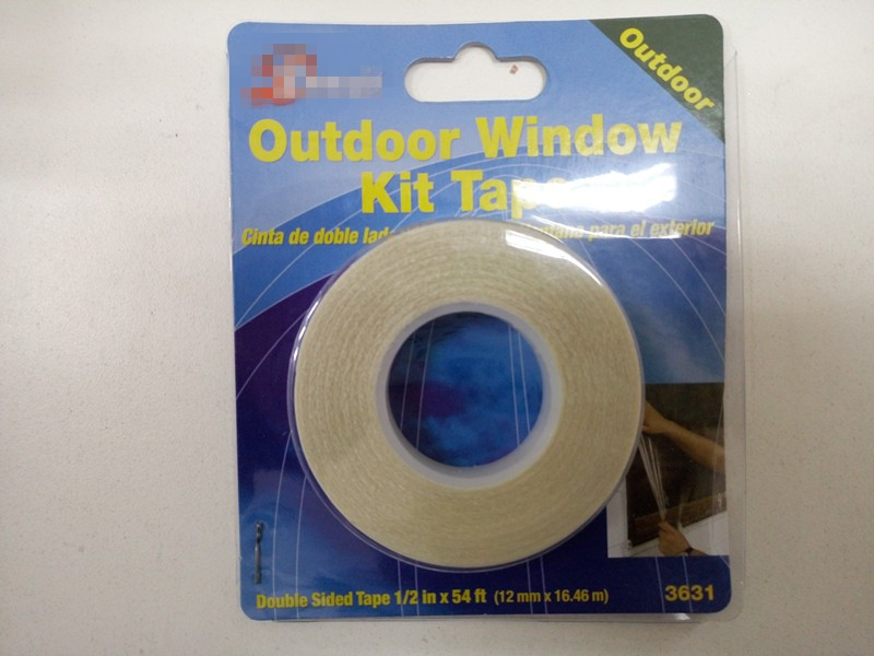remove cleanly and easily double sided window sealing tape