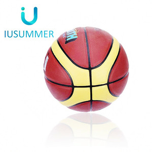 Pvc Leather Basket Balls Inflated Leather Basketball In Bulk