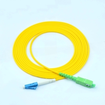 Factory Price Lc Duplex Single Mode Optical Fiber Patch Cable