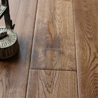 Solid prefinished oak hardwood flooring