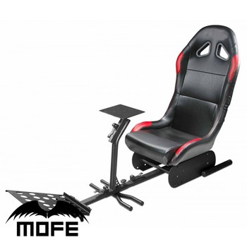 Mofe Play Racing Gaming Foldable Driving Race Seat Simulator Sim Chair Rig Cockpit  sc 1 th 225 : race gaming chair - Cheerinfomania.Com