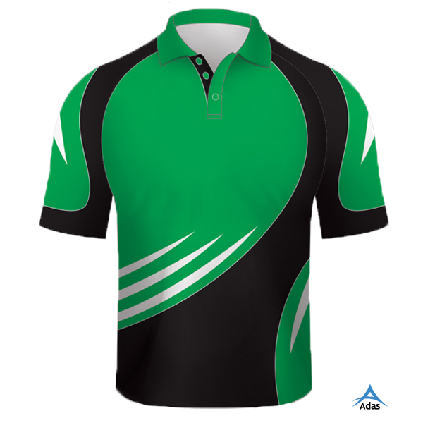 Dye Sublimation sports Polo Shirt