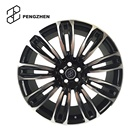 Gloss Black Color And Machine Face Forged Aluminum 20 inch suv rims for upgrade car Range Rover Velar