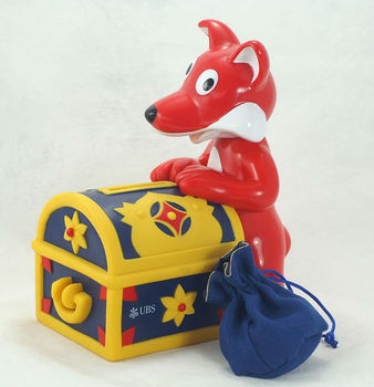 Money Box Oem For Kids,Fox Shaped Coin Bank,Kids Coin Bank ...